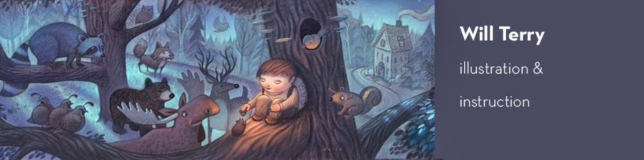 Will Terry - Children's Book Illustrator