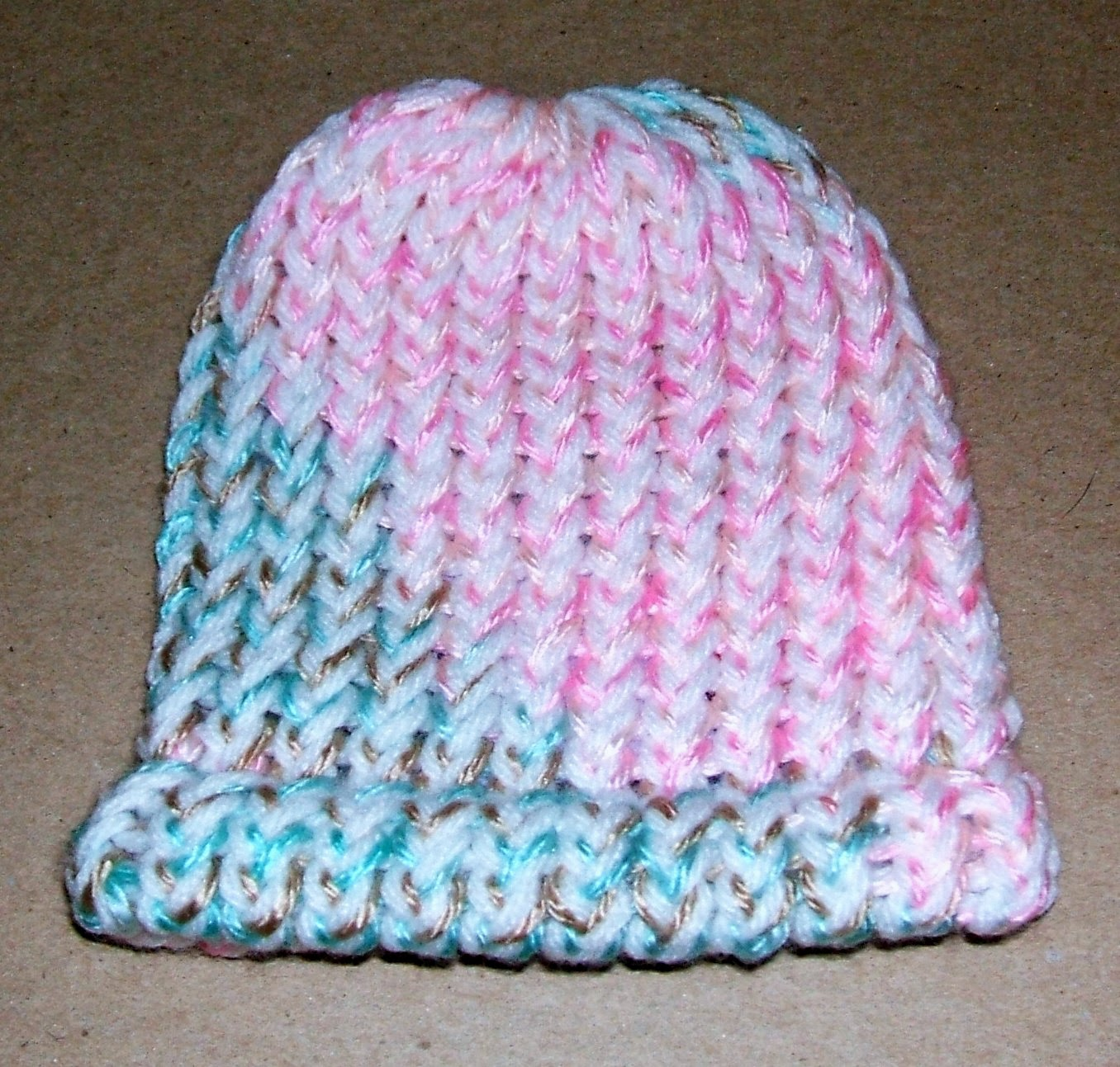Loom Knit Baby Hat With Brim : Yolanda s creations crochet hats for everyone