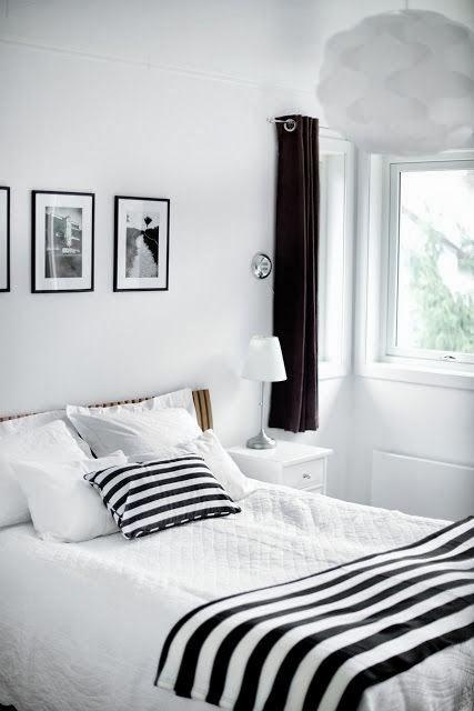 Art record dormitorios en blanco y negro - Dormitorios blanco y negro ...