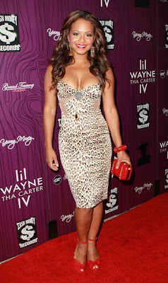 Christina Milian Cocktail Dress