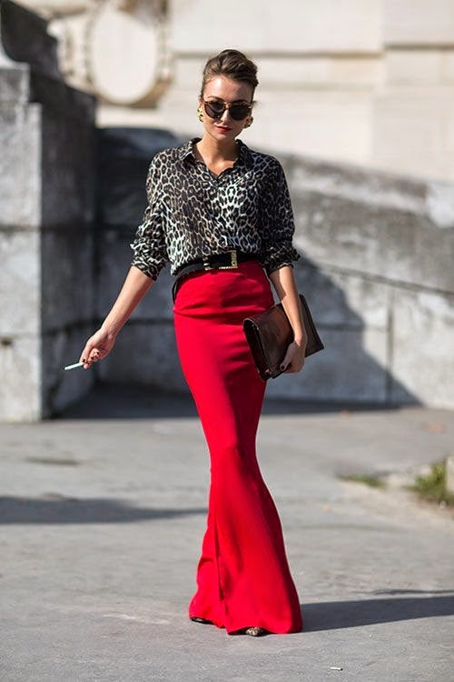 Street Style Paris Fashion Week Spring 2014 at KG Street Style
