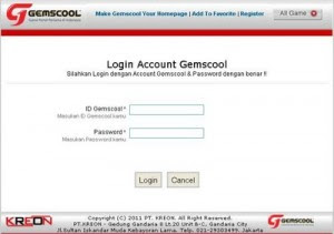 Gemscool | Gemscool.com | Login Point Blank PB
