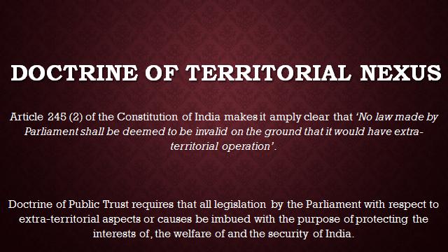 doctrine of escheat in india