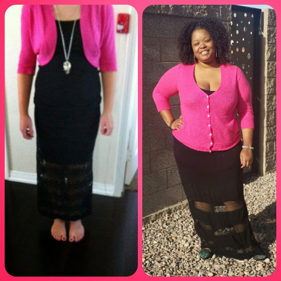 Styles by Shay Renae: Pinterest Done Plus: Black Maxi Dress and ...