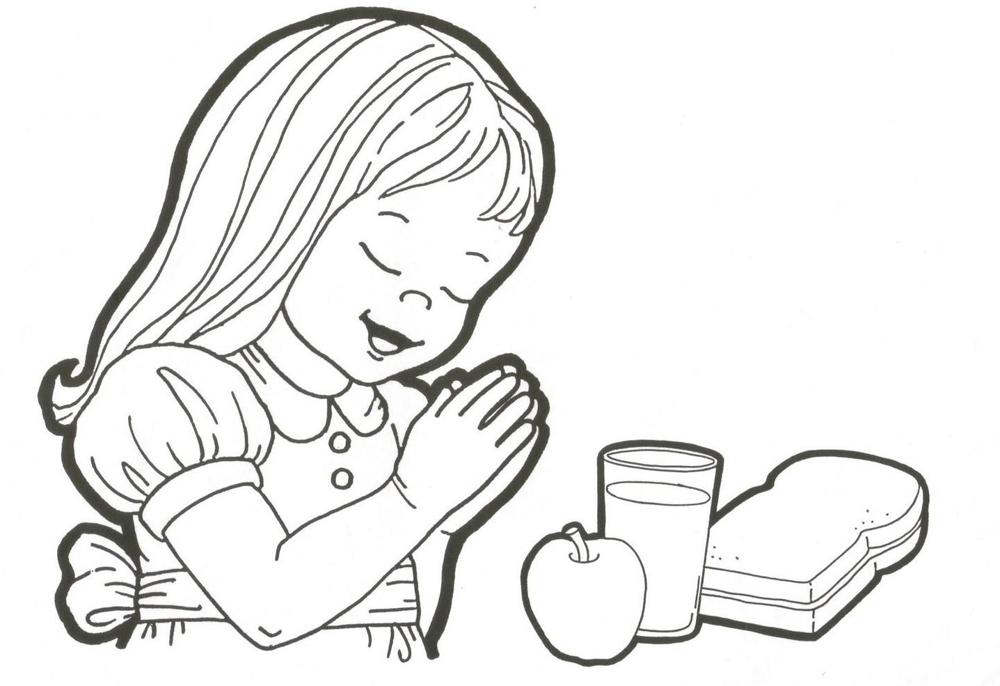 Excepcional Niño Orando Para Colorear Motivo - Dibujos Para Colorear ...