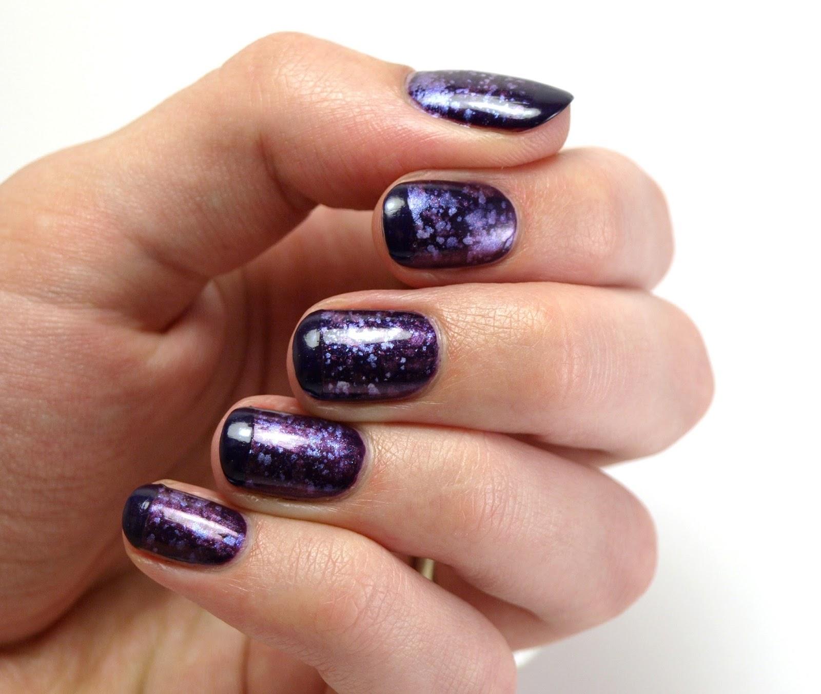Nail Polish Society: 31DC2013 Day 06: Purple Nails