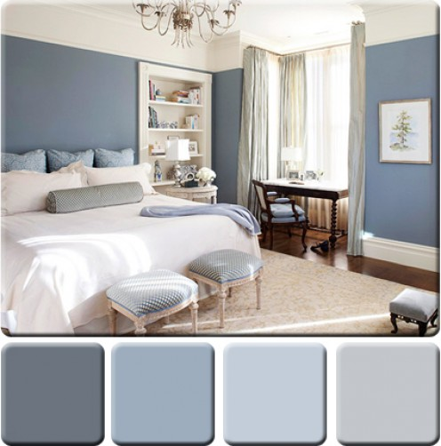 Dionne designs commit to color if you dare for Monochromatic bedroom designs