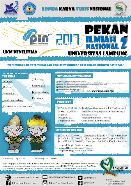 LKTIN Mahasiswa PIN 2017