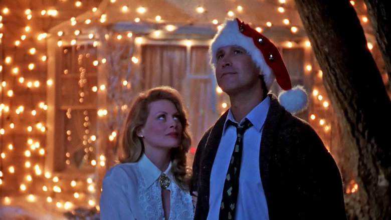 Clark and Ellen Christmas Vacation 1989 movieloversreviews.blogspot.com