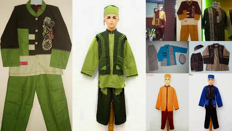 Model Busana Muslim Anak Pria 2014