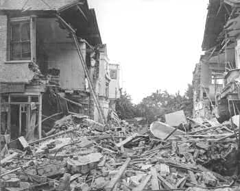 The lothians bringing down the zeppelins the german for How many homes were destroyed in germany in ww2