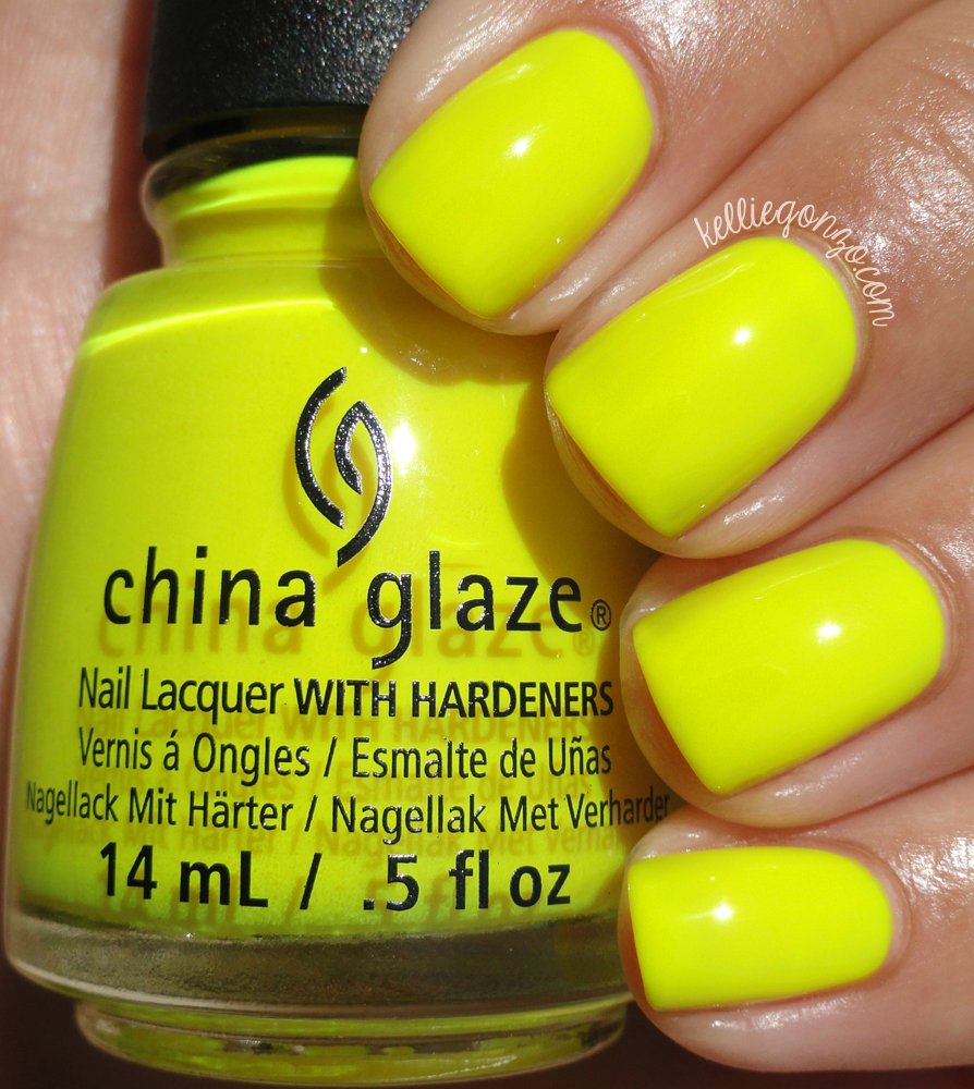 China Glaze Daisy Know My Name? Electric Nights