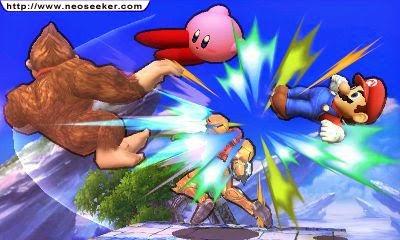 3DS Super Smash Bros Screenshot