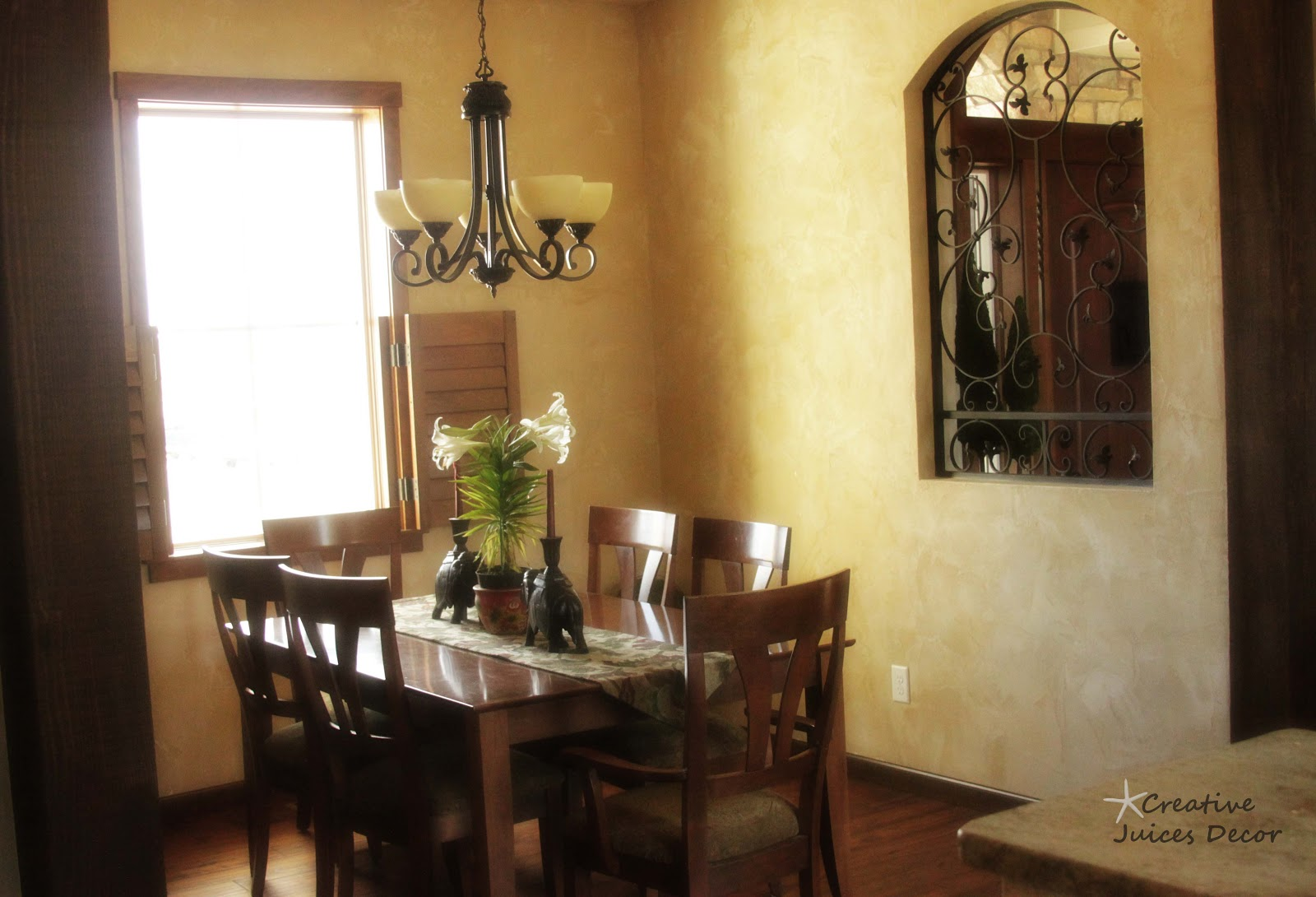 Creative juices decor all about foyers and entries focal for Tuscan dining room