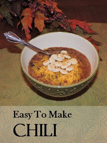 Chili, Easy Recipe