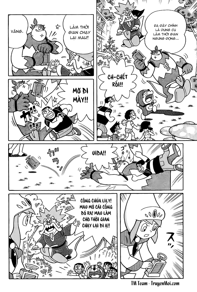 Truyện tranh Doraemon Dài Tập 25 - Nobita và truyền thuyết thần rừng trang 203