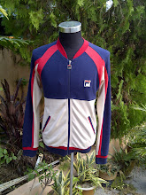 VINTAGE FILA TRAINER SWEATER BJ ERA