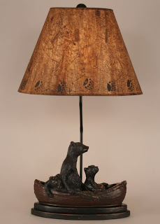 bear decor lamp