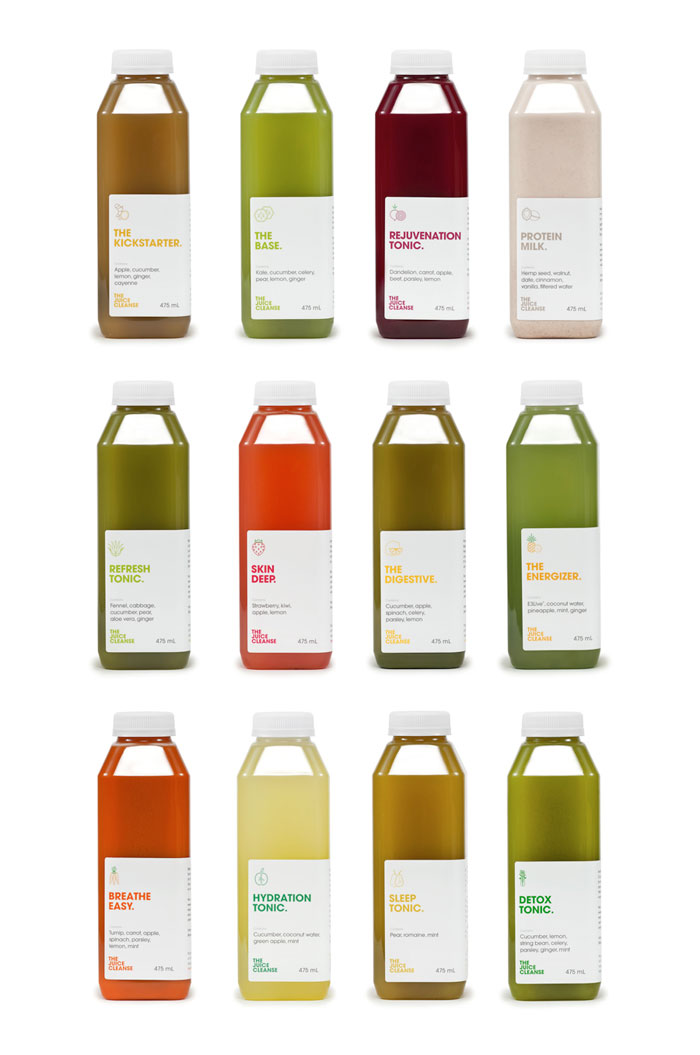 The Juice Cleanse on Packaging of the World - Creative Package Design ...