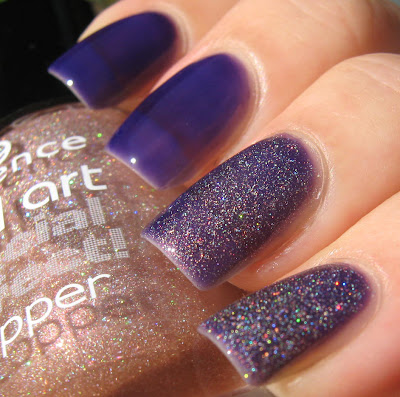 l'oreal berry nice essence holo topping, please!