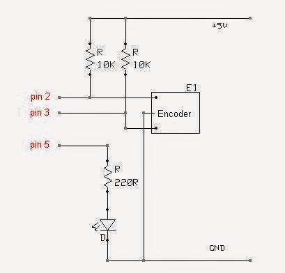 74hc595 8 Bit Shift Register in addition Kontrol Robot Arm Dengan Arduino additionally Encoder furthermore Rotary Encoder Wiring Diagram furthermore Pengatur Kelembaban Dan Suhu Kotak Kaca. on arduino lcd output