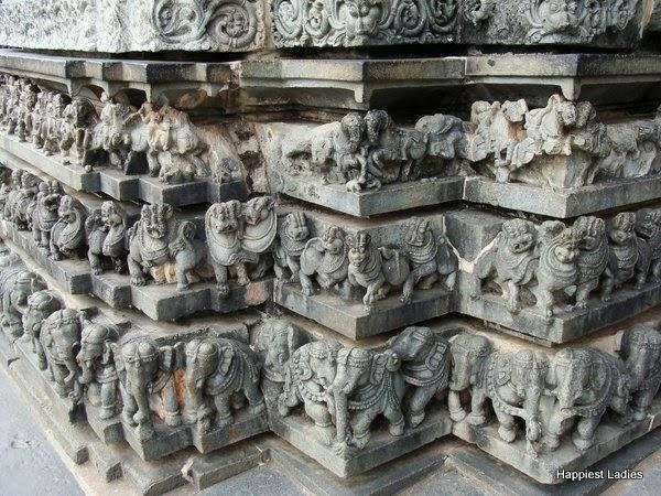 Belur Chennakeshava Temple walls