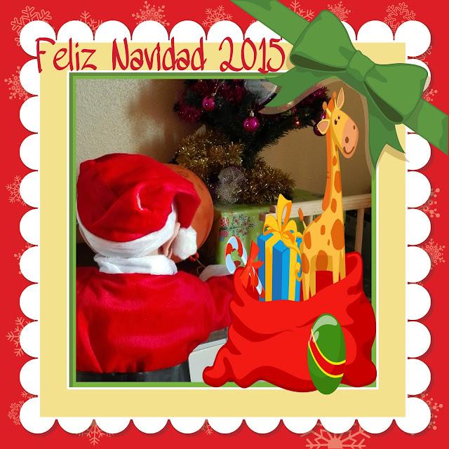 Enol navidad traje de papá noel la mamá de enol