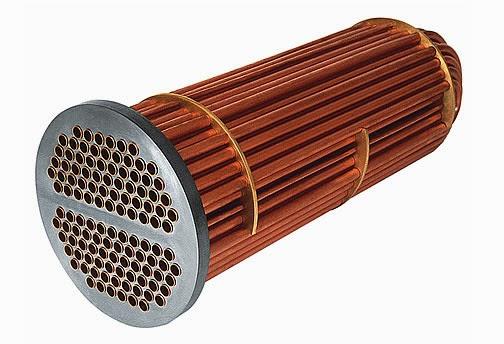 Tube bundle for heating