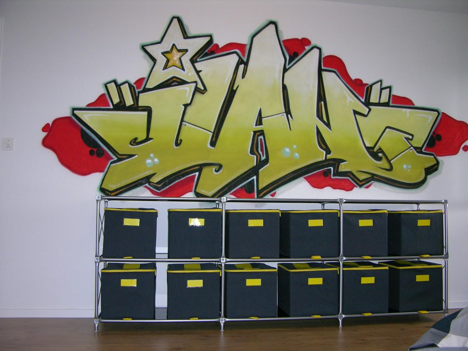 Graffiti chambre enfant - Tag prenom gratuit ...