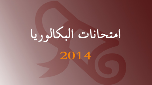 ضبط 440 حالة غش خلال اليوم الأول من الدورة العادية للامتحان الوطني الموحد للبكالوريا 2014