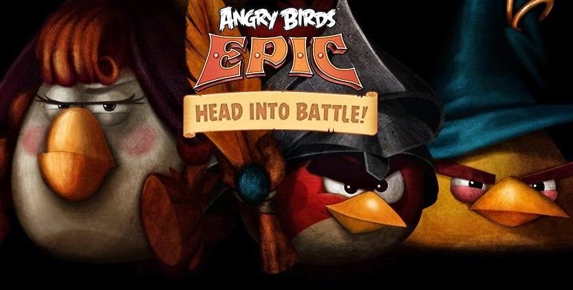 Angry Birds Epic Apk v1.0.12 Full Data Mod [Money]
