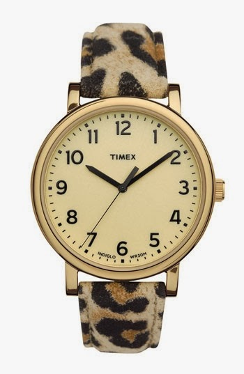 The Most Beautiful Leopard Print Timex Watch