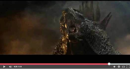 GODZILLA 30-Second TV Spot/Movie Clip