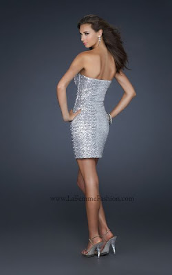 Party Kleider - Collection LaFemme Fashion 2012