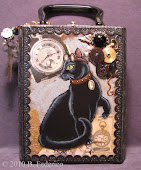 Steampunk Cigar Box Purse