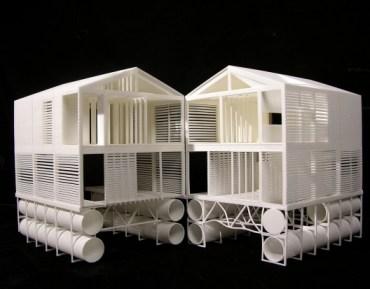 Vis le architecture urbanisme paysage patrimoine histoire d 39 architecture vivre sur l 39 eau - Maison flottante ...