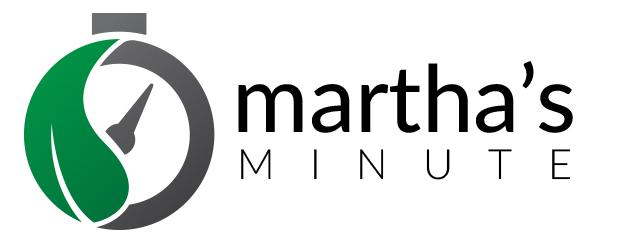 MARTHA 'S MINUTE
