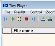 برنامج Tiny Player مشغل الصوتيات