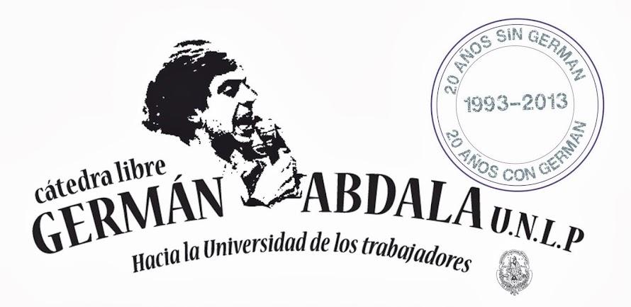 Cátedra Libre Germán Abdala