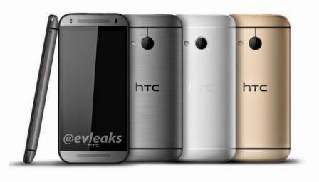 HTC One 2 Mini hadir dalam tiga varian warna