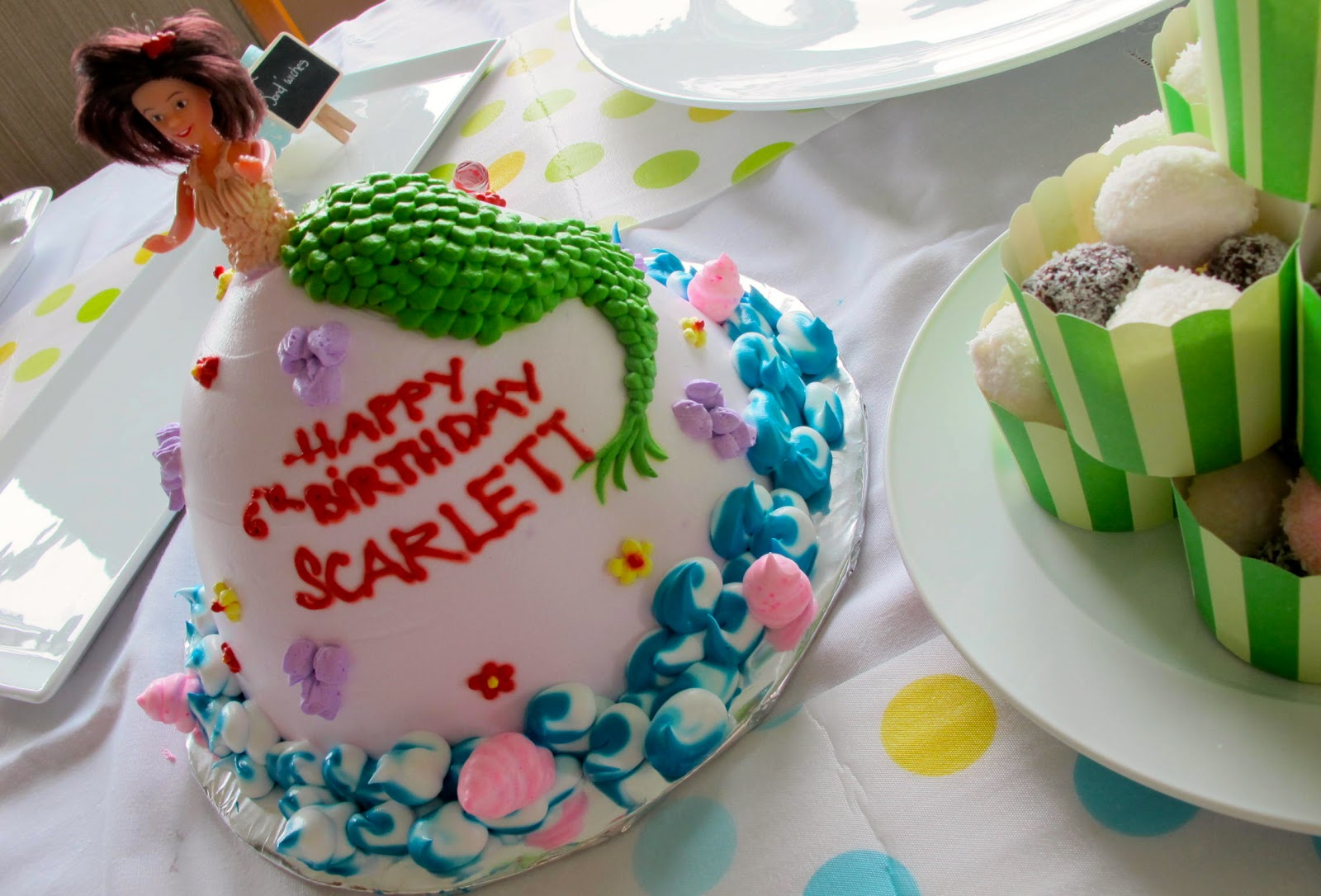 Images Of Birthday Cake With Name Simran : The Moggys Mekong Madness: Scarlett s 6th Birthday Party ...