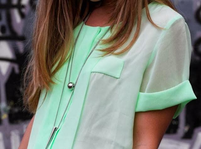 Adorable stylish turquoise shirt for trendy girls