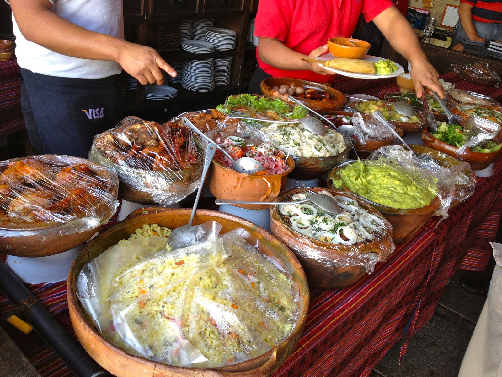 Spaswinefood best traditional guatemalan food at la for Antiguan cuisine