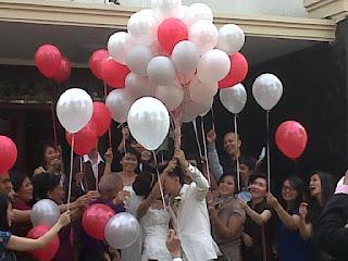 Balon Gas Pre Wedding