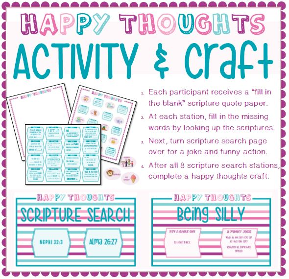 Happy Thoughts Scripture Search