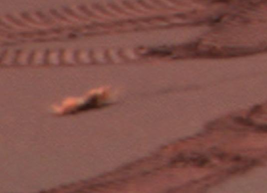 Alien nu sur Mars