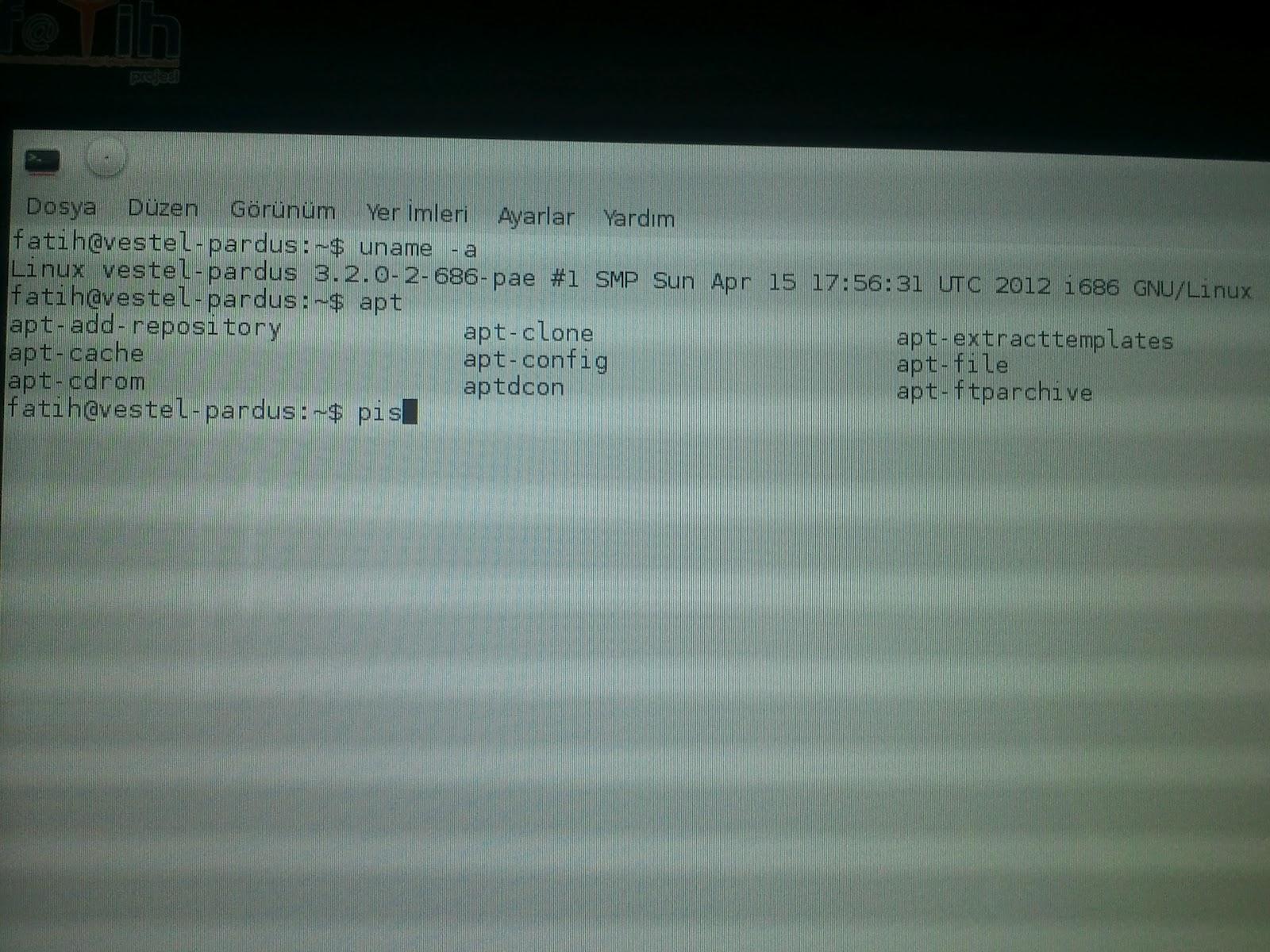 Pardus Logolu Debian, a.k.a Yeni Pardus