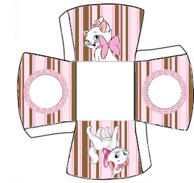 Gatinha Marie da Disney – Kit Completo Molduras Convites e Rótulos