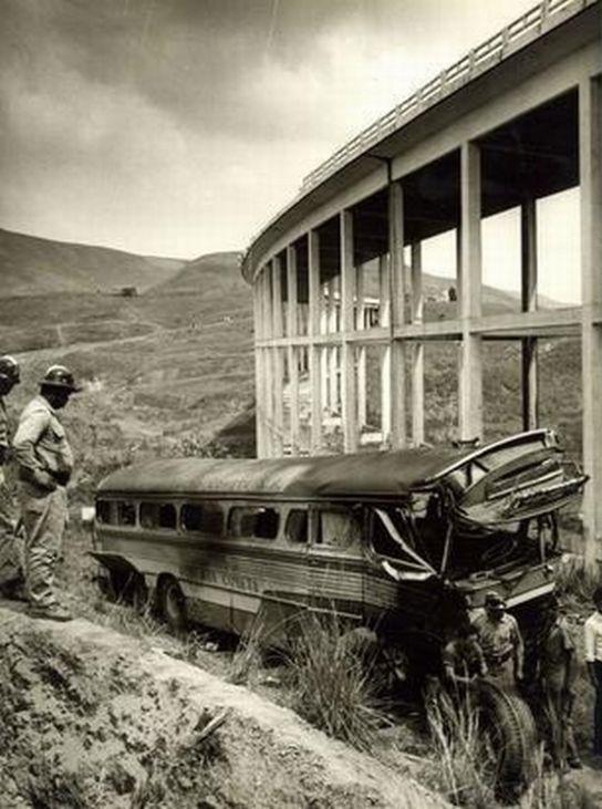 Acidente Viacao Cometa 1967 No Viaduto Das Almas 14 Mortos Em