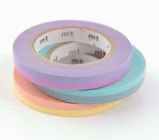 Two tone rolls of washi tape